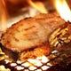 美明豚48時間熟成の骨付きロース炭火焼き