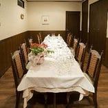 【完全個室】ハレの日にも、ご家族での食事会やお祝いの席にお薦めのテーブル席