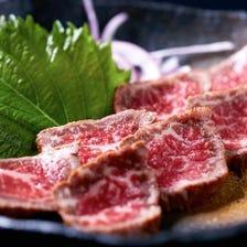 石垣牛のたたき・石垣牛ステーキ