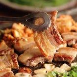 各種宴会に最適!サムギョプサルと韓国料理食べ放題コース♪