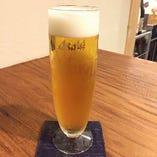 鮮度抜群の生ビール