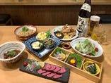 当日OK飲み放題付き料理7品税込み3000円コース