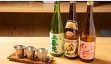 時間限定でお得も 日本酒飲み比べセット