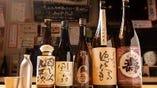日本酒は色々揃えております。290円からお手軽に呑んでください