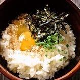 「定番」卵かけご飯