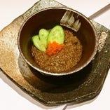 蟹味噌バター焼き