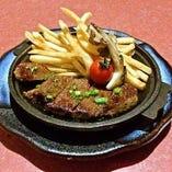 牛方のおもてなし 牛ステーキ陶板焼き
