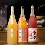 女性におすすめの多彩な果実酒