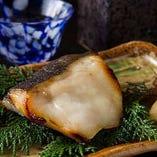 本日の焼き魚、煮魚