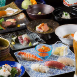 コース料理はお客様のお好みに合わせ、最適な献立でご提供いたします。