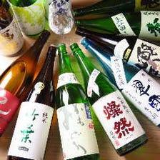 店主が厳選した全国各地の日本酒!!