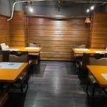 10名様~最大15名様まで入れるテーブルの個室をご用意しております!