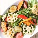素揚げ野菜サラダ