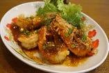 海老のタマリンド炒め