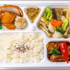 中華弁当(海鮮炒め)