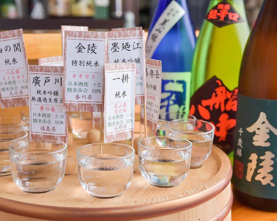 ■女将厳選 おすすめ10種飲み比べ