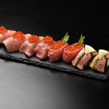 【名物】豪華肉寿司