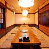 ◇豊富な個室 4名~80名までご利用可能な個室を完備。