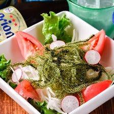 海ぶどうサラダ