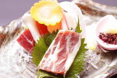 熊本馬刺しと純米酒「櫻」  メニューの画像