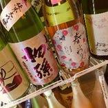 純米酒・焼酎・梅酒とこだわりのお酒をお楽しみ下さい。
