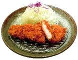 平牧三元豚ロース定食