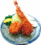 海老ひれ一口かつ定食