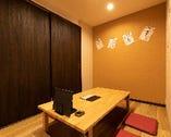 個室も完備でプライベート空間でお食事を楽しめます!