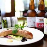 埼玉県産豚肉の自家製ソーセージ 温燻製仕立て