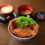 わらじかつ定食(2枚) ~チーズフォンデュ添え~