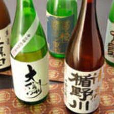 日本酒をはじめ様々なお酒をご用意