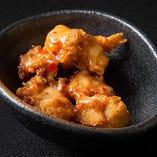 マテ茶鶏の唐揚げチリマヨソース