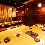 【桜の間】宴会利用でも人気のお席です。