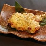 【岡山県産鶏の味噌チーズ焼き】