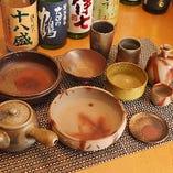 日本六古窯のひとつ、備前焼。味わいのある器で贅沢な時間をお過ごし下さい。