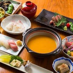 赤坂和食 紬 TSUMUGI