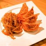チョリソー餃子 ピリ辛トマトソースのラビオリ仕立て