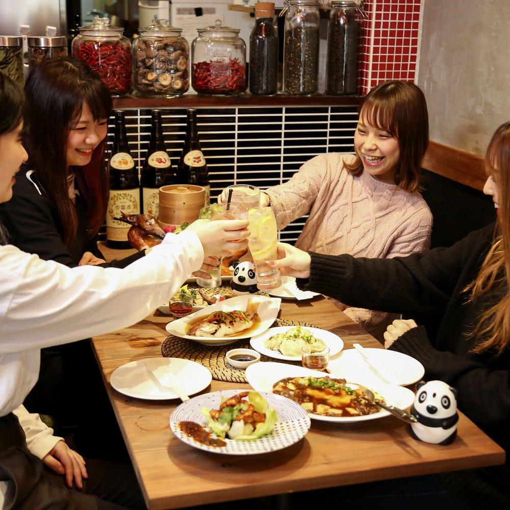 焼き小龍包に中華バル・台湾料理を★