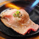 サーロインの炙り寿司480円