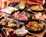 料理コースは税込5000円~。予算に応じても対応できます。
