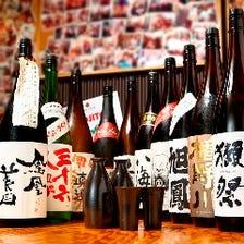 日本全国の日本酒・地酒あり!