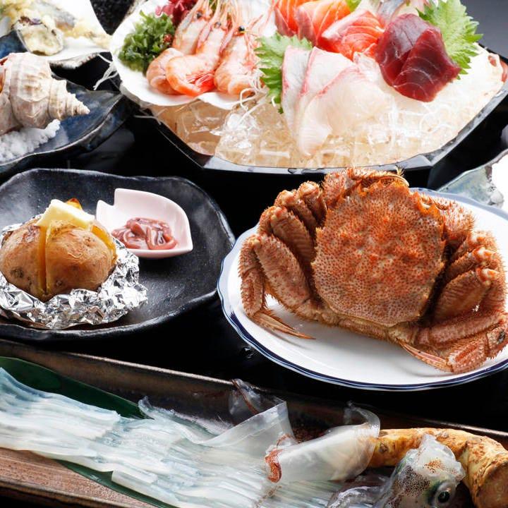 コース料理(イメージです) お料理コース3000円からご用意