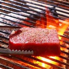 肉の旨みを引き出す『炭火焼き』