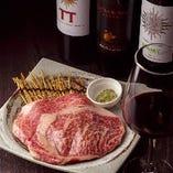 お肉は最上級の日高見牛、漢方和牛をセレクト。安全&美味!
