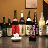 良質な米と水に恵まれた近江の銘酒 約10種類ご用意しています