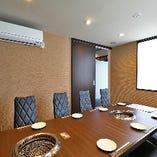 より上質な会食シーンに相応しい完全個室のご用意もございます