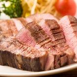 牛上タンの厚切りステーキ