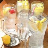 レモンサワーはなんと199円からご用意