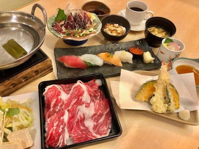 【予約限定】宴(国産牛しゃぶしゃぶ付き)