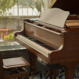 ◆:グランドピアノ:◆ 優しい音色を聴きながらお食事をぜひ
